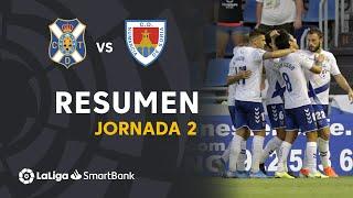 Resumen de CD Tenerife vs CD Numancia (3-2)