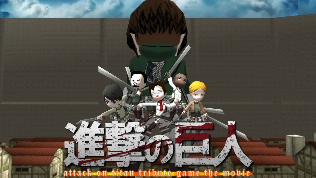 Attack on Titan Tribute Game - fenglee.com/game/aog ...