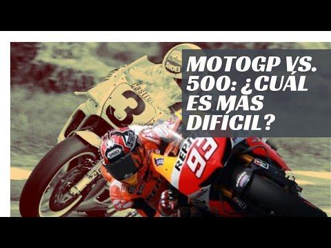 MotoGP vs 500cc: ¿Cuál es más difícil de pilotar?