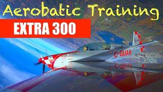 Aerobatic Training Extra 300 - Upright Aviation Academy