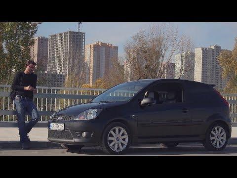Ford Fiesta ST - злобная городская гонка