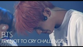 BTS Try Not To Cry Challenge
