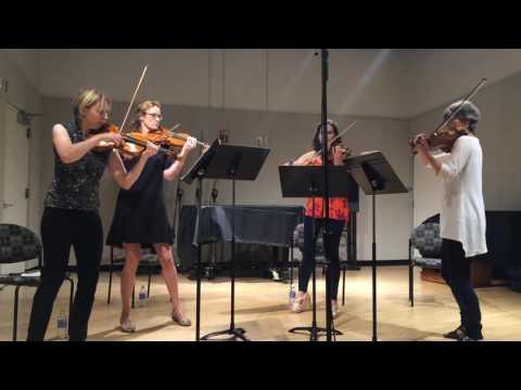 Grazyna Bacewicz: Quartet for Four Violins