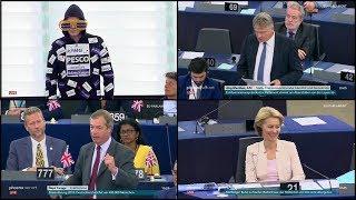 Frau Ursula von der Leyen ist erleichtert - 16.07.2019 EU-Parlament - Bananenrepublik