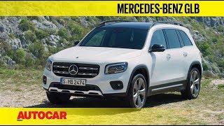 Mercedes-Benz GLB - 7-seat compact luxury SUV | First Look and Walkaround | Autocar India