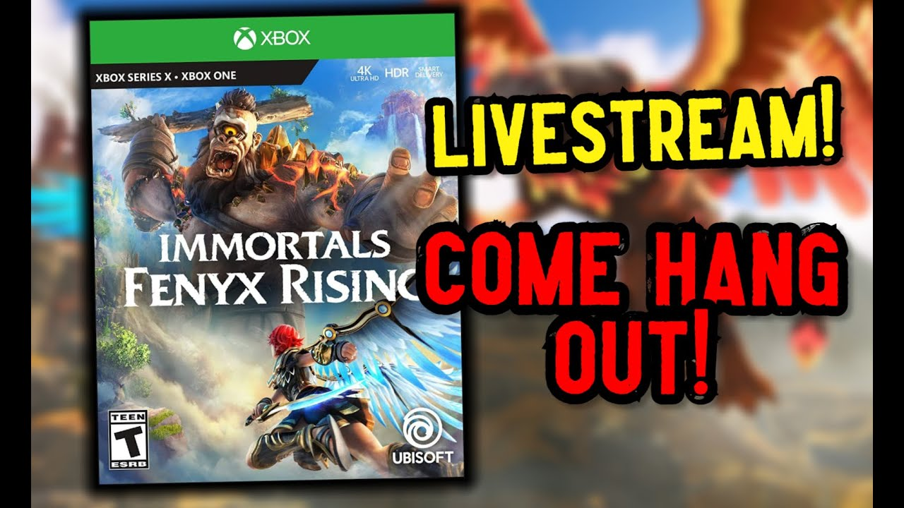 Immortal's Feynx Rising Livestream! Come hang out
