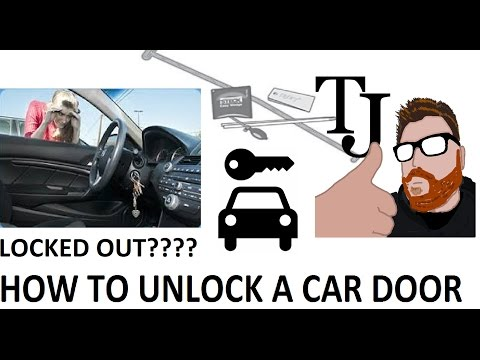 Locked Out How To Unlock Your Car Door Big Easy Review Youtube