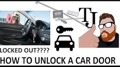 Locked Out? How to unlock your car door! - Big Easy Review