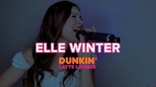 Elle Winter Performs At Dunkin Latte Lounge