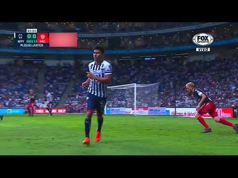 Gol de R. Pizarro   Monterrey 1 - 0 Necaxa   Cuartos - Clausura 2019   LIGA Bancomer MX