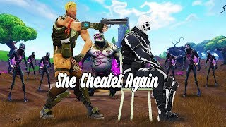 ''She Cheated Again!'' -Dax (Fortnite Montage) LeoHyPE