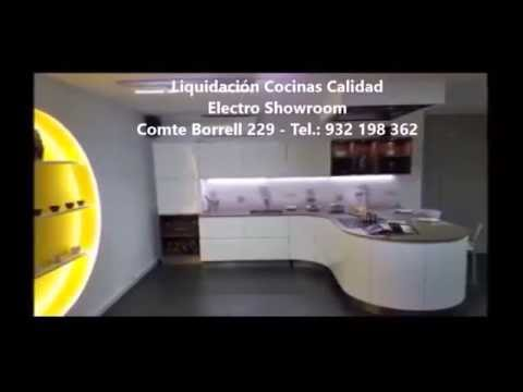 liquidacion cocinas exposicion barcelona