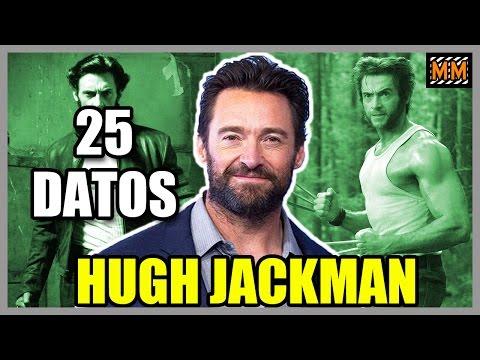 "25 Curiosidades sobre ""HUGH JACKMAN"" - (Logan - Wolverine - X-Men - Van Helsing) - |Master Movies"