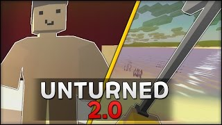 This was Unturned two years ago - (Unturned 2.0 Gameplay & How to get it!)