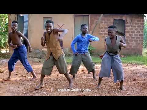 """TRIPLETS GHETTO KIDS"" Dance To Rotimi Ft Wale - ""In My Bed"""