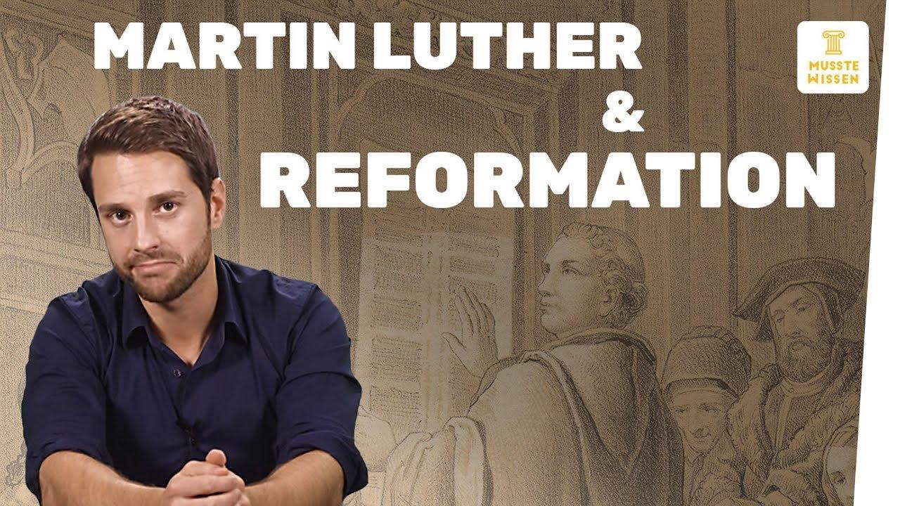 martin luther und die reformation i musstewissen geschichte youtube. Black Bedroom Furniture Sets. Home Design Ideas