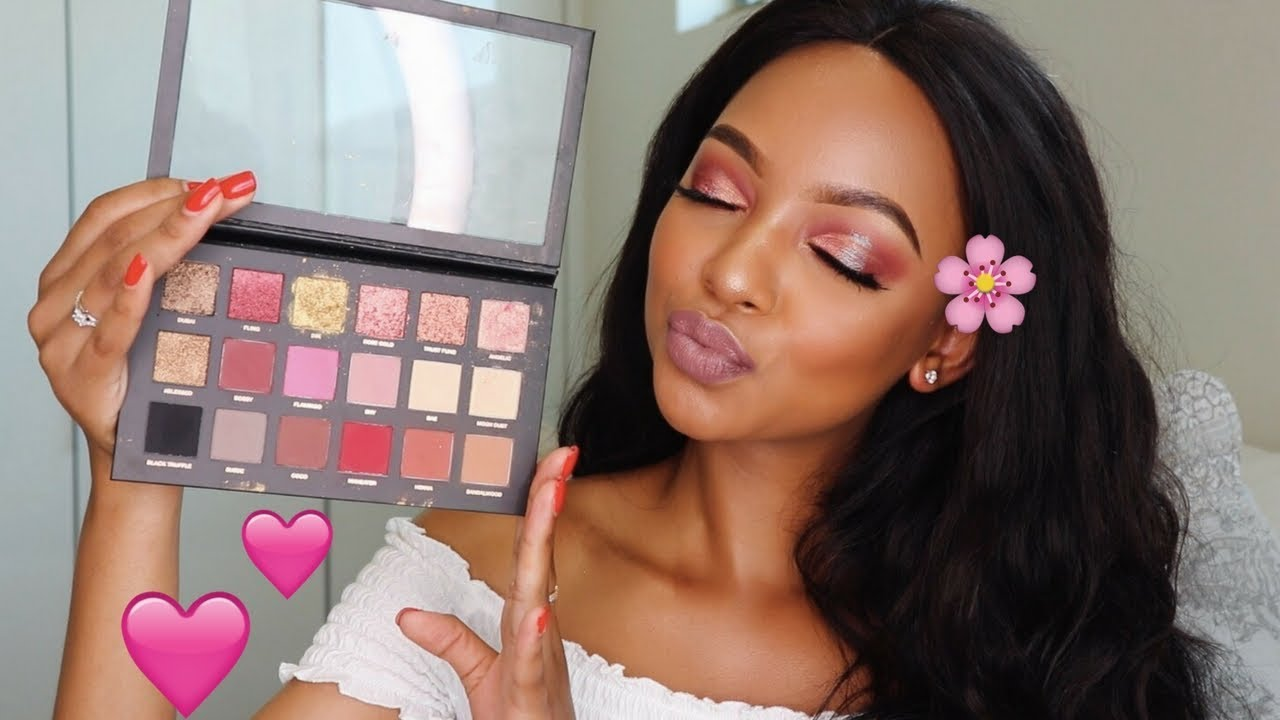 Pink barbie makeup tutorial mihlali n youtube pink barbie makeup tutorial mihlali n baditri Image collections