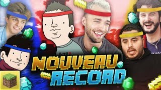 UN NOUVEAU RECORD ! 🌟 (Minecraft ft. Bob Lennon, Laink, Terracid, Doigby, Fuze III)