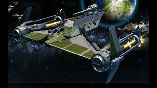 Star Wars: The Old Republic ~ Galactic Starfighter Adventures 1: Lucianor + Gunship = Chaos
