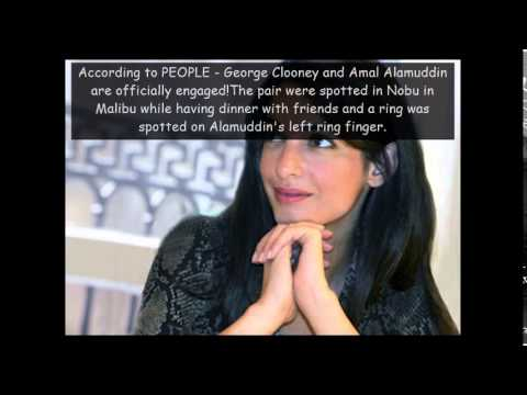 Amal Alamuddin Engaged To George Clooney