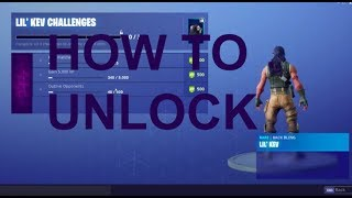 How to Unlock the *NEW* Lil' Kevin Backbling - (Fortnite Battle Royale Cube Event)