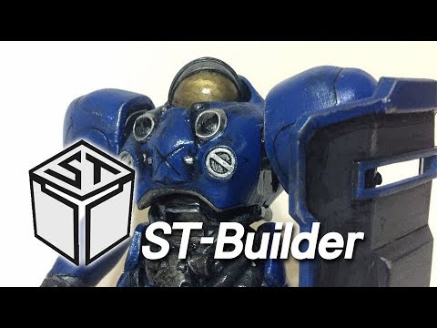 ST-Builder 3D Print StarCraft2 Marine