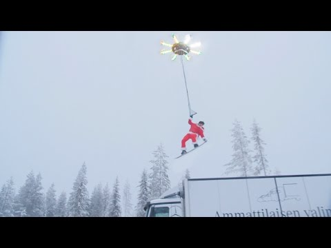 Thumbnail: HUMAN FLYING DRONE