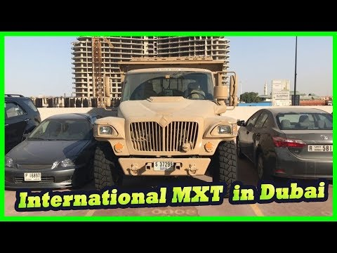 Navistar International Light utility truck MXT. International MXT or Military Extreme Truck in Dubai