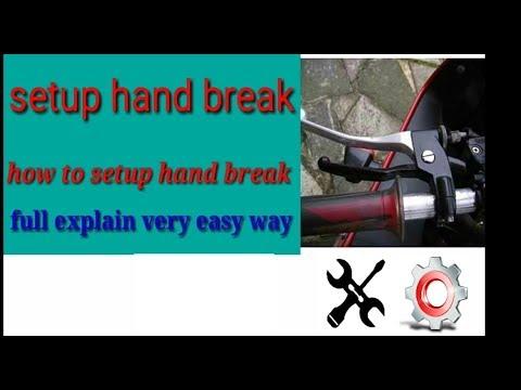 How To Stunt Bike Hand Brake Installation And How To Setup Hindi