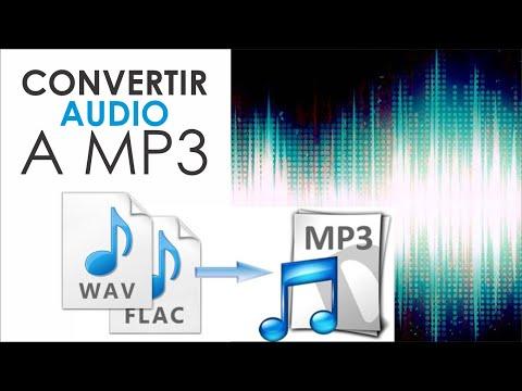 como convertir un audio a MP3 on line / sin descargar programa