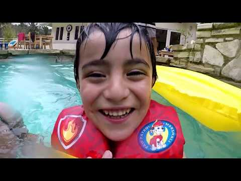 Labor Day weekend at the pool with friends and family 2017