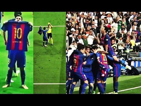 El gol 500 de Messi al Real Madrid visto desde todos los angulos