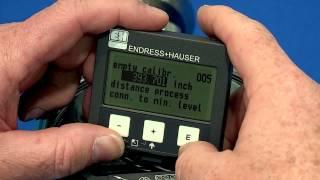 Levelflex м FMP40 основні налаштування