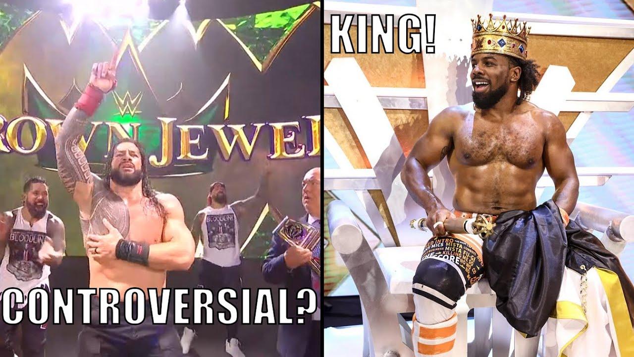 WWE Crown Jewel 2021 match grades, results: Roman Reigns ...