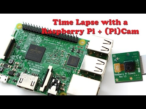 Easy time-lapse with Raspberry Pi + Cam by MrMarcie