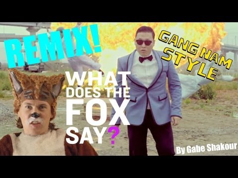 What Does The Fox Say? VS. Gangnam Style REMIX (What Does The Fox Say & Gangnam Style Mashup)