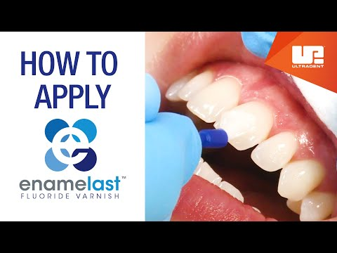 How to Apply Enamelast Fluoride Varnish | Step-by-Step