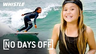 10-Year-Old PRO Skater & Surfing PRODIGY | Sky Brown Video