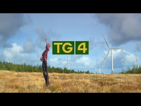 TG4 REBRAND 2021 - On Air Identity Assets and supporting Social/Print Brand Assets - TG4