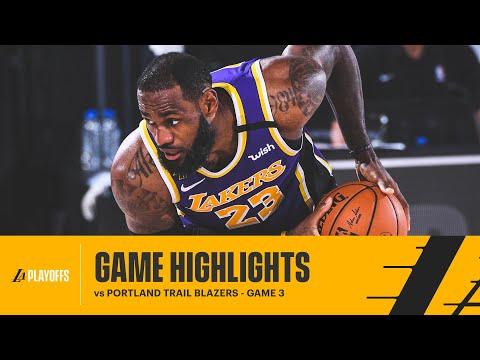 HIGHLIGHTS | LeBron James (38 pts, 12 reb, 8 ast) vs Portland Trail Blazers