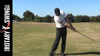 RotaryConnect RST Golf Training Aid Drills - Stay Connected in Backswing