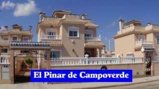 A Spanish Property Villa 3-Bedrooms Costa Blanca Spain El Pinar de Campoverde Alicante Sale Private