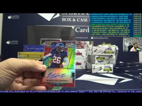 Sunday NFL Draft Warm Up 20 Box Flawless Treasures Football Mixer – RANDOM TEAMS