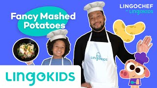 Fancy Mashed Potatoes Recipe   Simple Recipes for Kids   LINGOCHEF