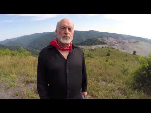 Ed Rabel at Kayford Mountain in West Virginia