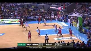 PBA: Ginebra: Justin Brownlee's clutch three to seal the win! (PBA Gov's Cup QF 2016)
