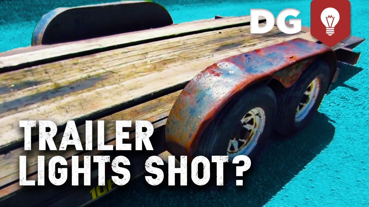 Bulletproof Wiring Your Tow Trailer Youtube Lights