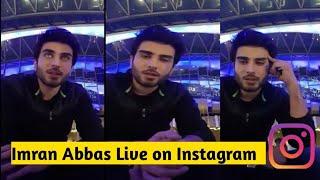 Imran Abbas live on Instagram on 15/08/2018
