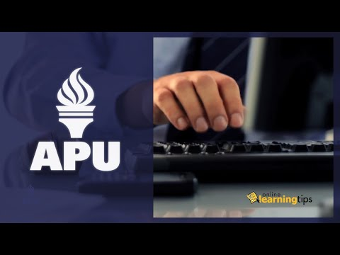 The Top 10 Things You Need To Do When Applying Online | American Public University (APU)