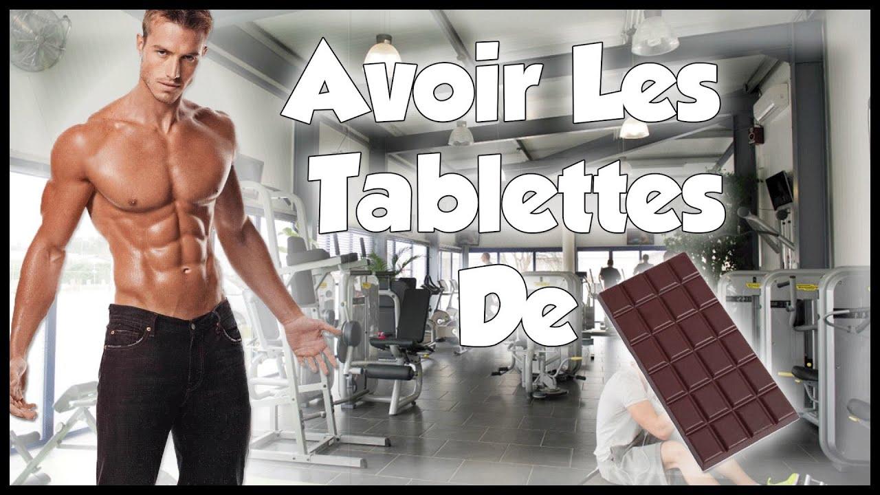 comment avoir des abdos tablette de chocolat